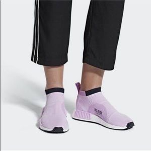 New w box nmd slip on socks in pink